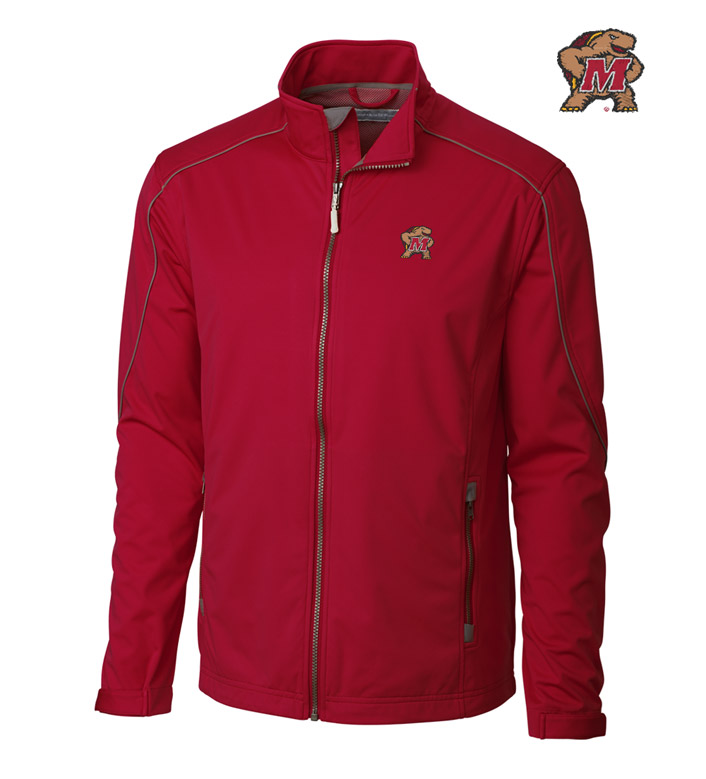 Cutter & Buck University of Maryland WeatherTec Softshell Jacket