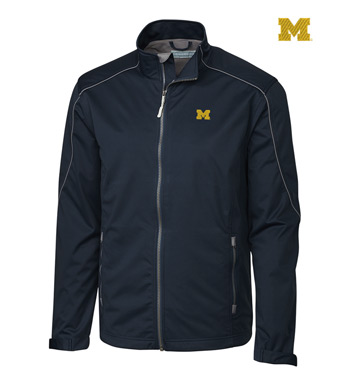 University of Michigan WeatherTec Softshell Jacket