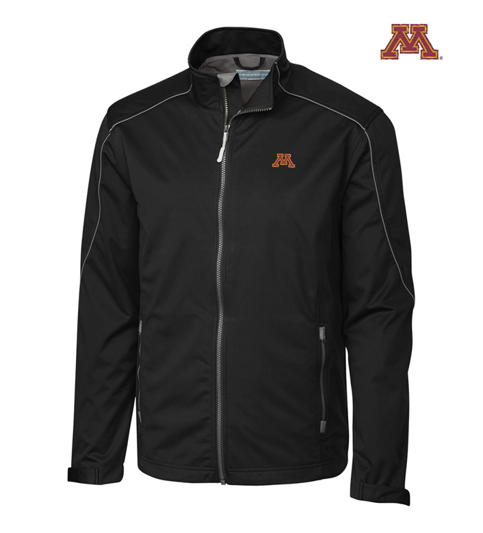 Cutter & Buck University of Minnesota WeatherTec Softshell Jacket