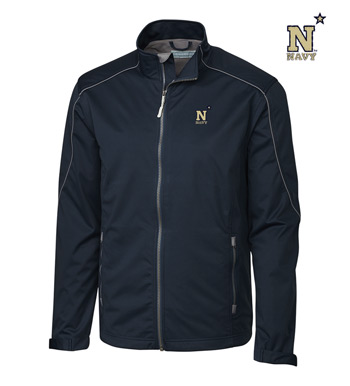 Navy WeatherTec Softshell Jacket