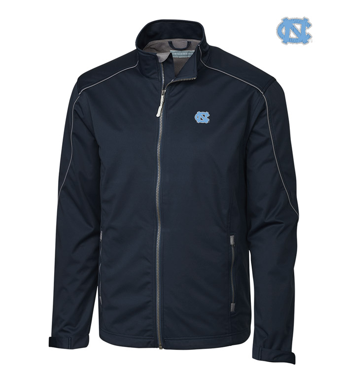 Cutter & Buck University of North Carolina WeatherTec Softshell Jacket