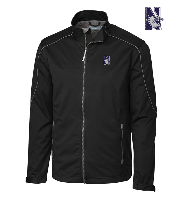 Cutter & Buck Northwestern University WeatherTec Softshell Jacket