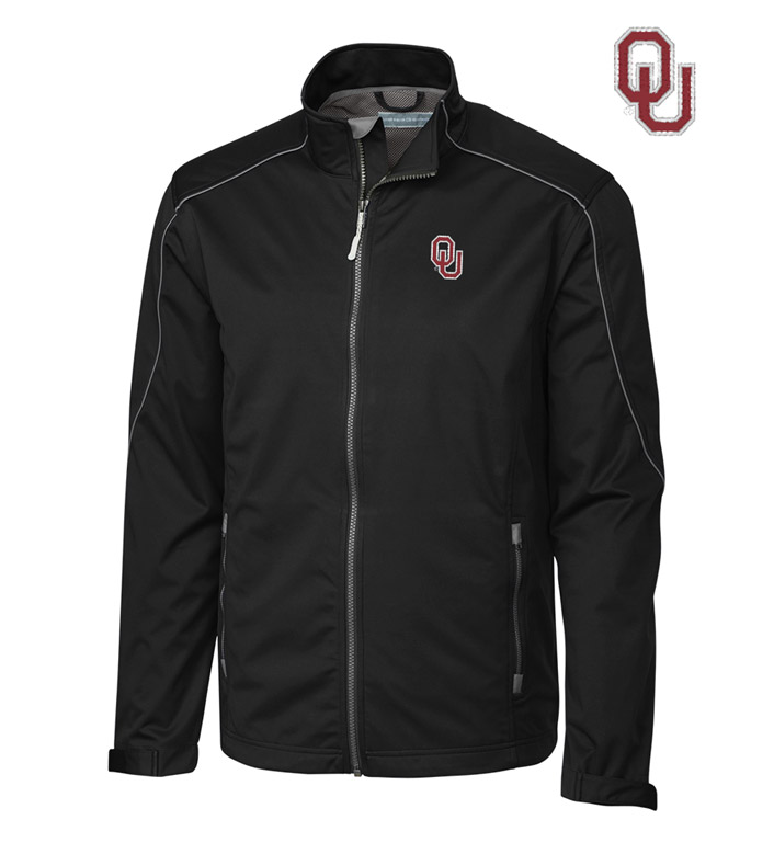 Cutter & Buck University of Oklahoma WeatherTec Softshell Jacket