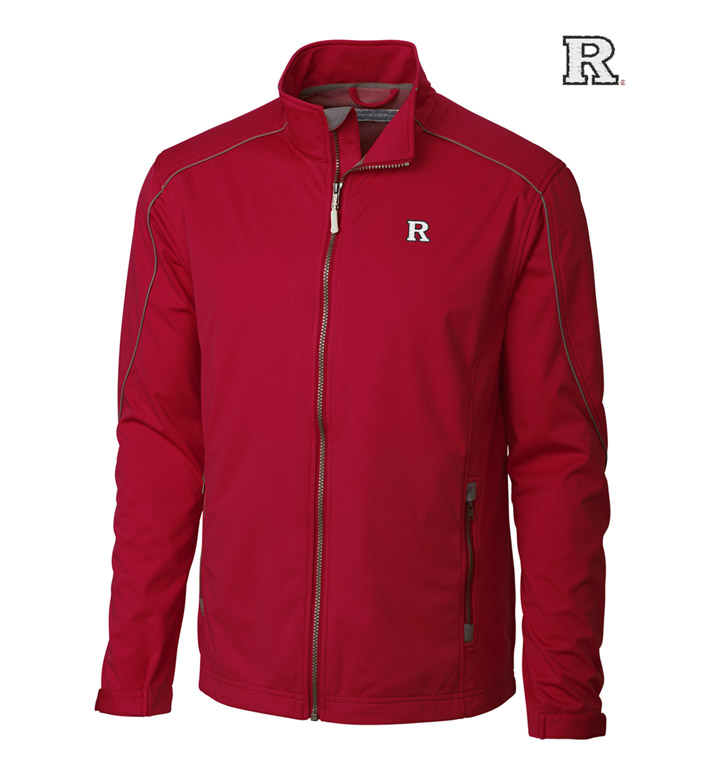Cutter & Buck Rutgers University  WeatherTec Softshell Jacket
