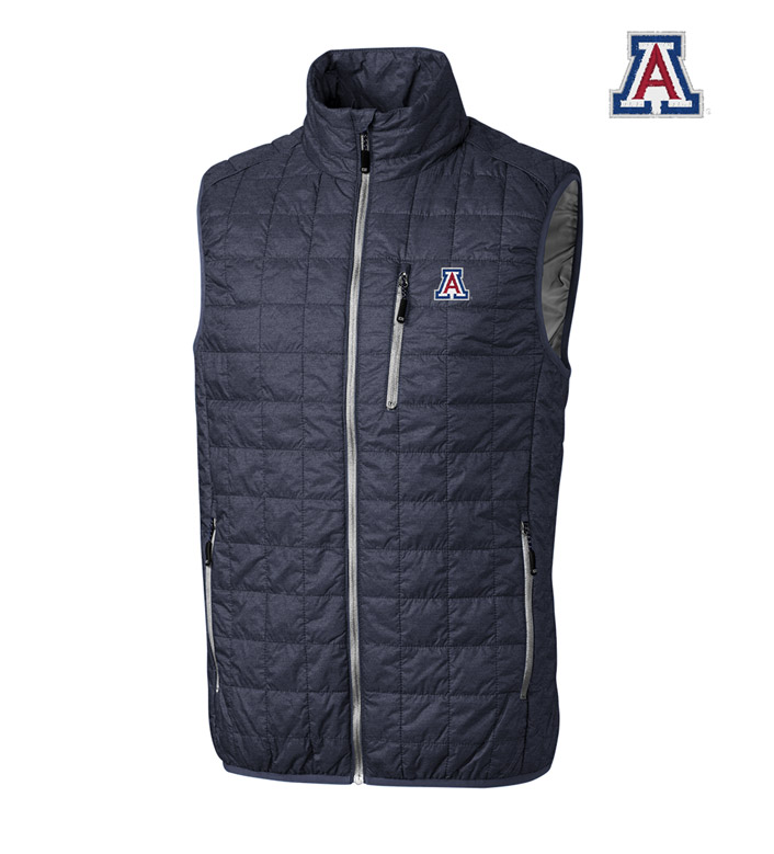 Cutter & Buck University of Arizona Insulated Full-Zip Vest