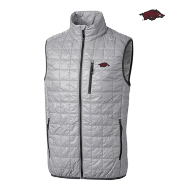 University of Arkansas Insulated Full-Zip Vest
