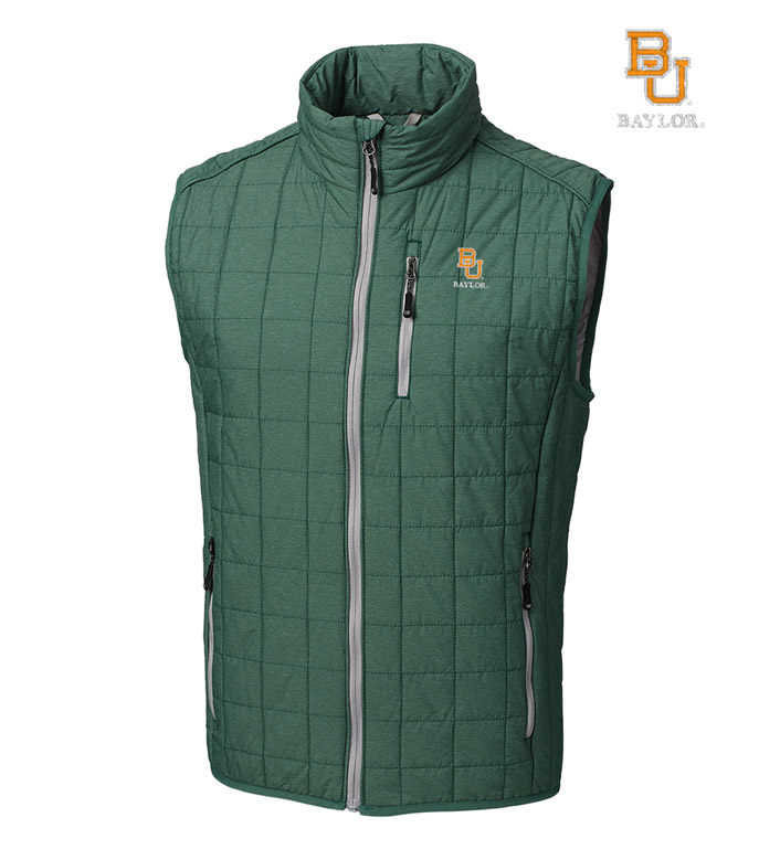Cutter & Buck Baylor University Insulated Full-Zip Vest
