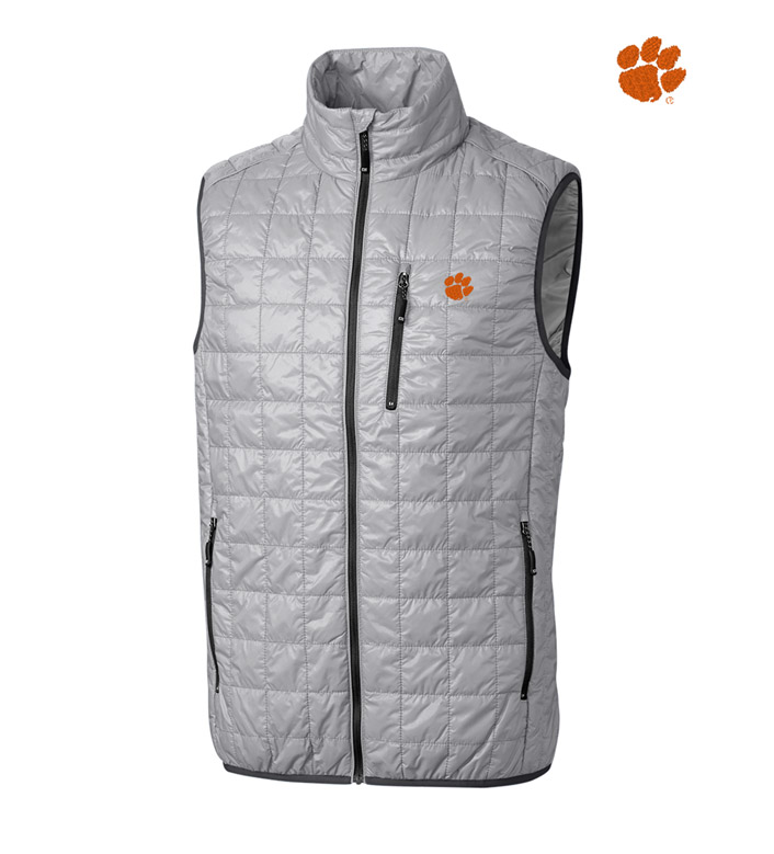 Cutter & Buck Clemson University Insulated Full-Zip Vest