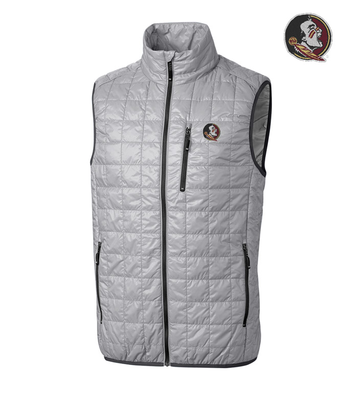 Cutter & Buck Florida State University Insulated Full-Zip Vest