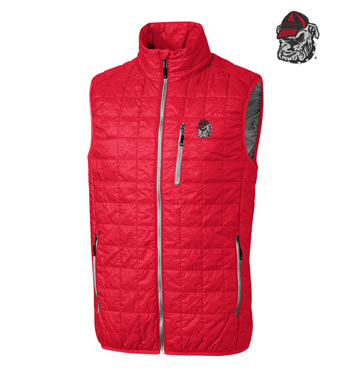 University of Georgia Insulated Full-Zip Vest
