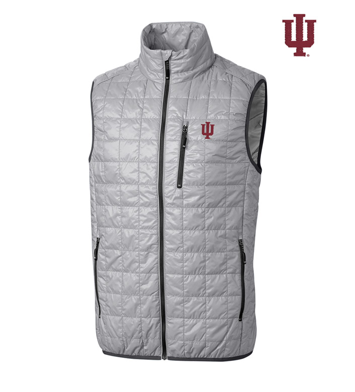 Cutter & Buck Indiana University Insulated Full-Zip Vest