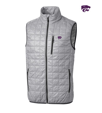 Kansas State University Insulated Full-Zip Vest
