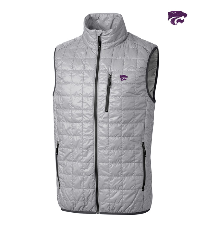 Cutter & Buck Kansas State University Insulated Full-Zip Vest