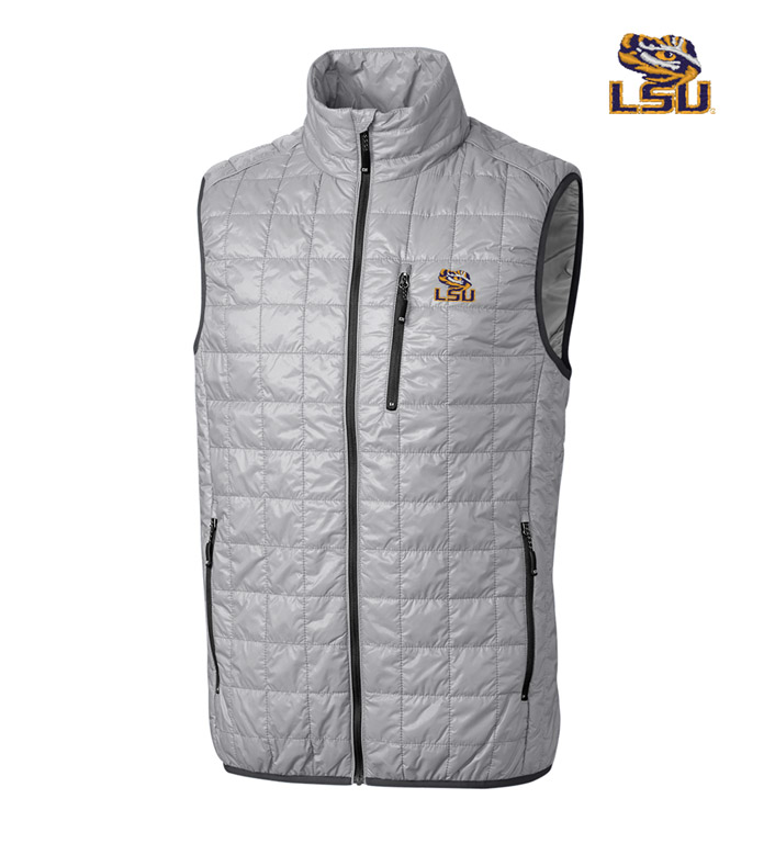 Cutter & Buck Louisiana State University Insulated Full-Zip Vest