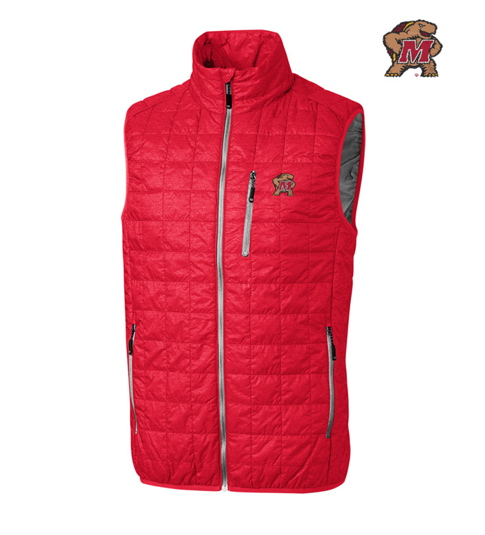 Cutter & Buck University of Maryland Insulated Full-Zip Vest