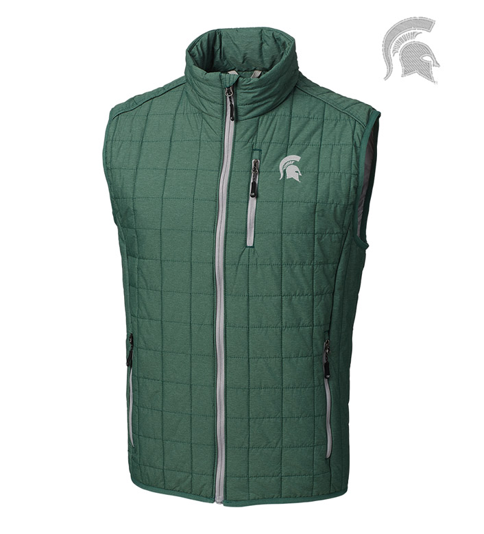 Cutter & Buck Michigan State University Insulated Full-Zip Vest