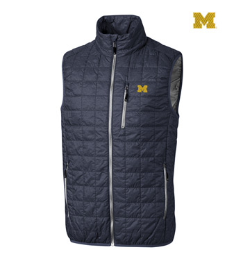 University of Michigan Insulated Full-Zip Vest