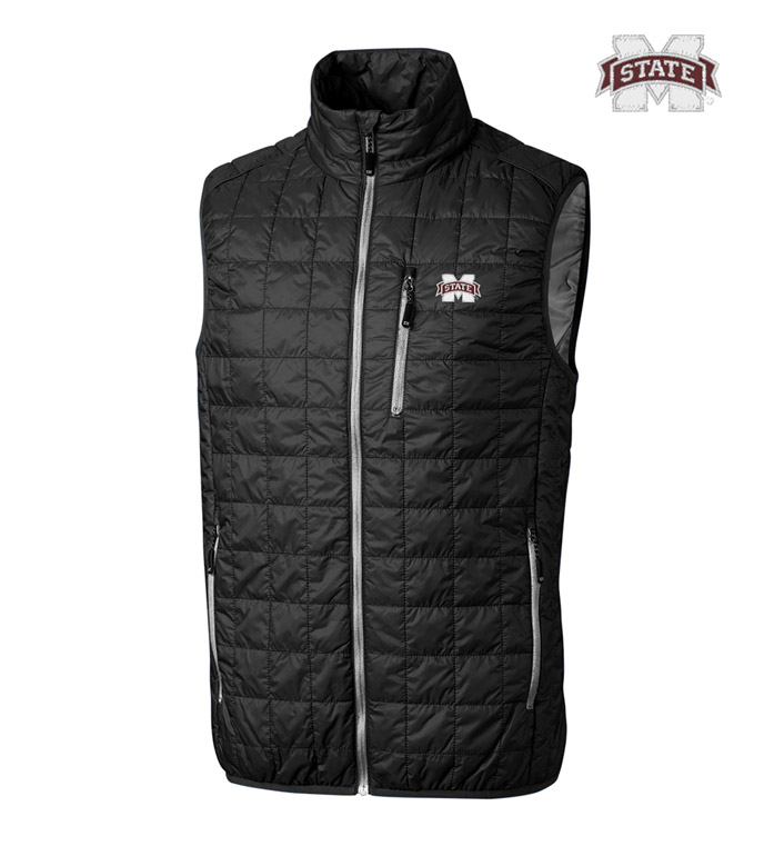 Cutter & Buck Mississippi State University Insulated Full-Zip Vest