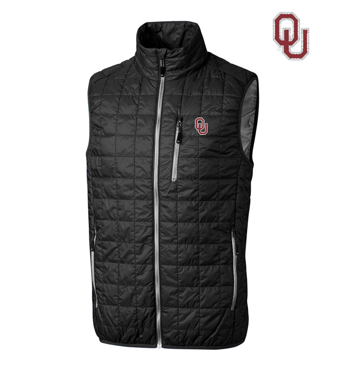 Cutter & Buck University of Oklahoma Insulated Full-Zip Vest