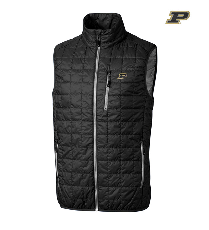 Cutter & Buck Purdue University Insulated Full-Zip Vest