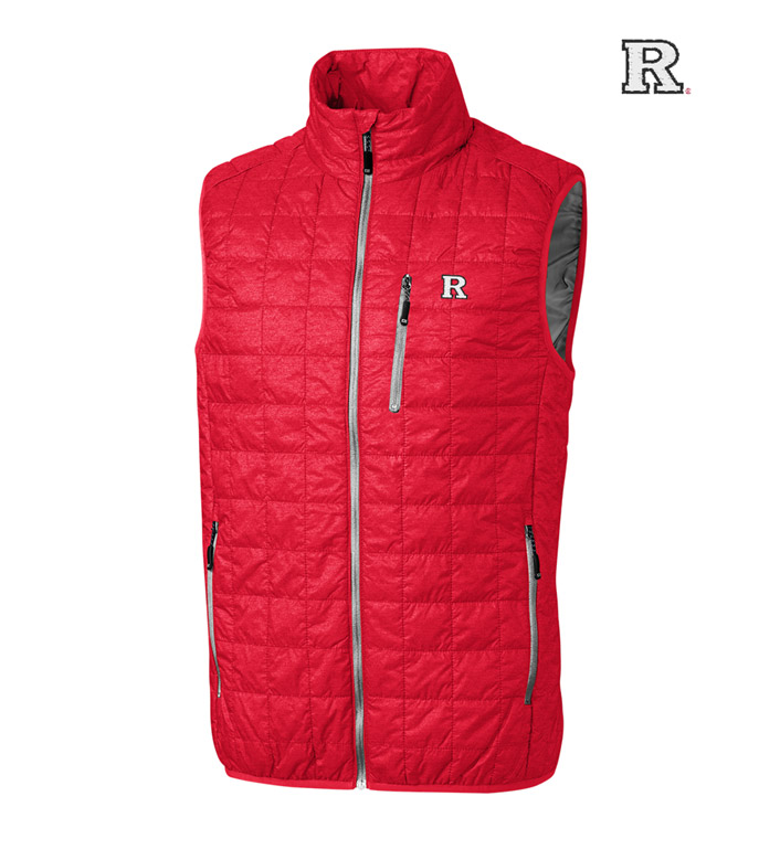 Cutter & Buck Rutgers University  Insulated Full-Zip Vest