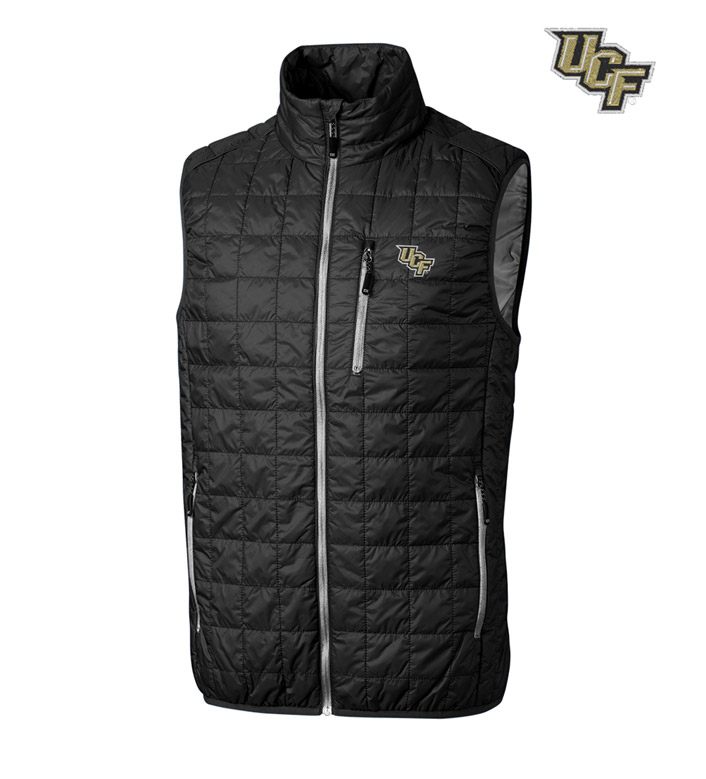 Cutter & Buck University of Central Florida Insulated Full-Zip Vest