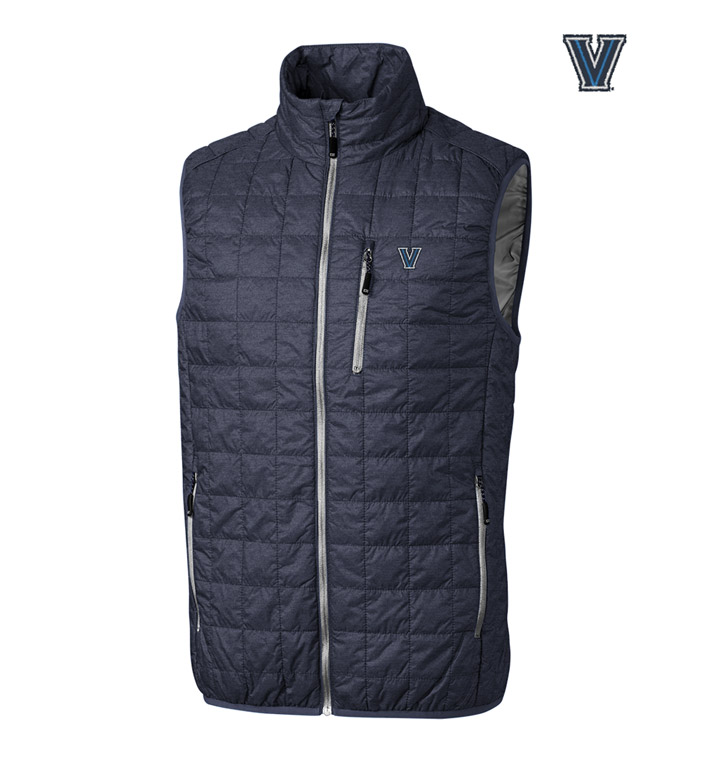 Cutter & Buck Villanova University Insulated Full-Zip Vest