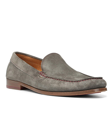Nate Distressed Suede Loafer
