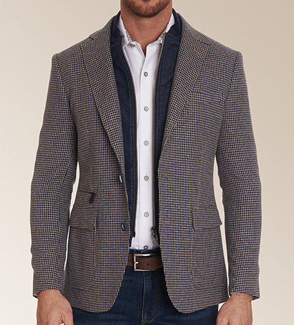 Downhill VIII Houndstooth Sport Coat