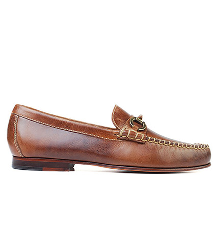 Old Row Horse Bit Leather Loafer