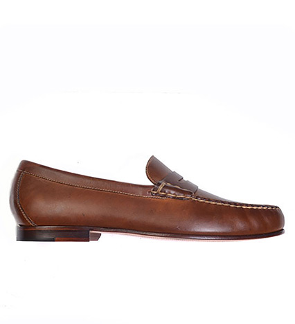 Old Row Leather Penny Loafer