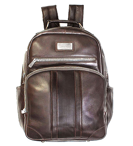 Executive Leather Backpack
