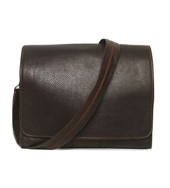 Martin Dingman Courier Leather Bag