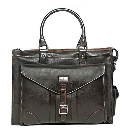 Martingale Leather Brief Bag