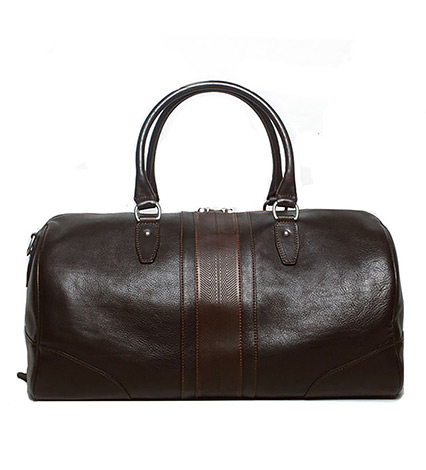 Polocrosse Leather Duffel Bag