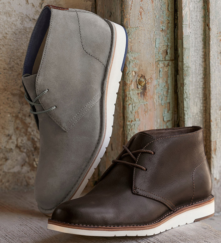 Trask Bardon Leather Chukka Boot