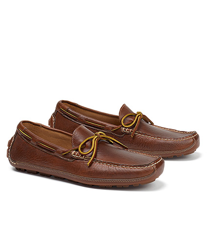 Dillon Leather Driving Moccasin