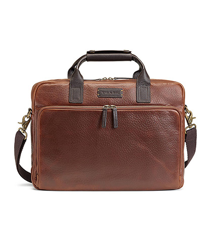 Jackson Slim Zip Briefcase