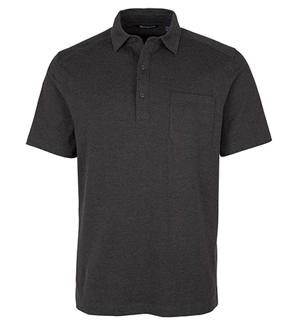 Advantage Short Sleeve Jersey Polo Shirt