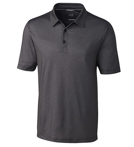 Pike Mini Pennant Print Short Sleeve Polo Shirt
