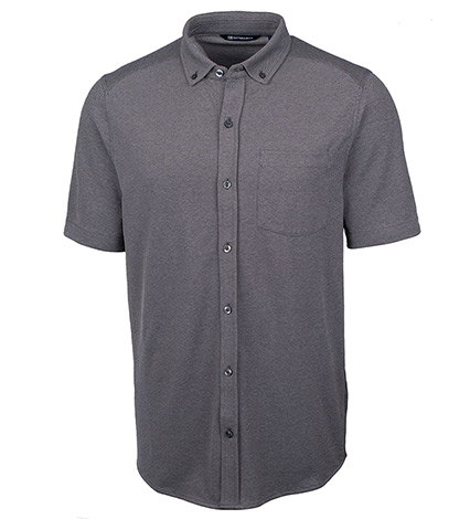 Reach Short Sleeve Oxford Sport Shirt