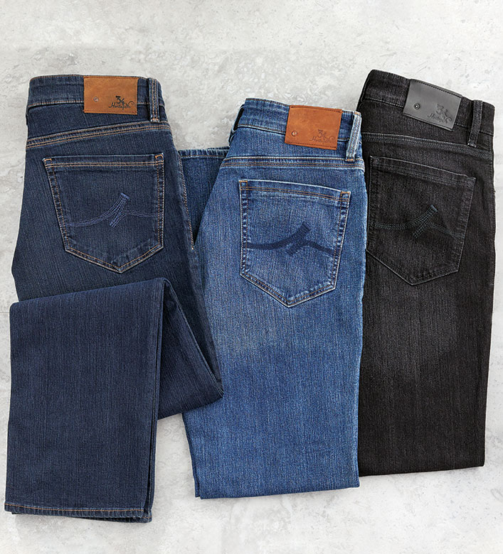 34 Heritage 5-Pocket Charisma Comfort Stretch Jeans