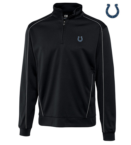 Cutter & Buck Indianapolis Colts Edge Half-Zip Pullover