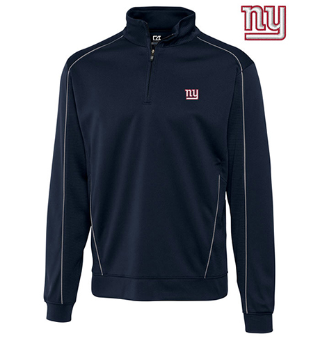 Cutter & Buck New York Giants Edge Half-Zip Pullover