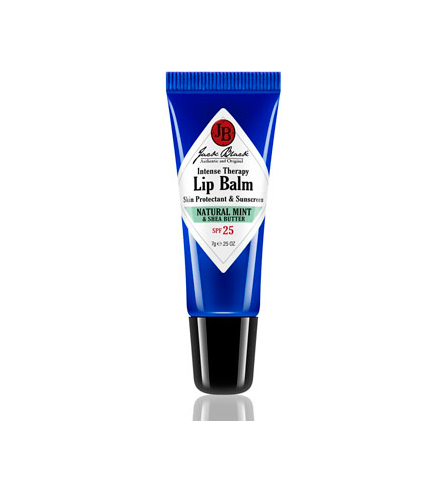 Jack Black Intense Therapy Lip Balm SPF 25 Mint-Shea
