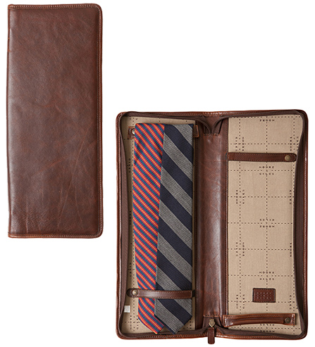 Moore & Giles Leather Tie Case