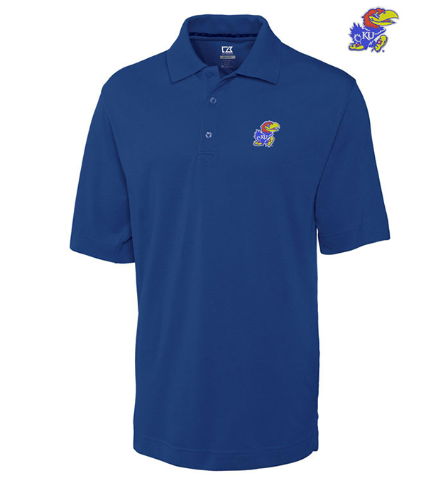 Cutter & Buck University of Kansas Championship Polo