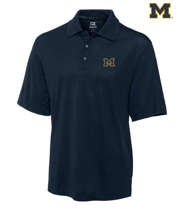 Cutter & Buck University of Michigan Championship Polo