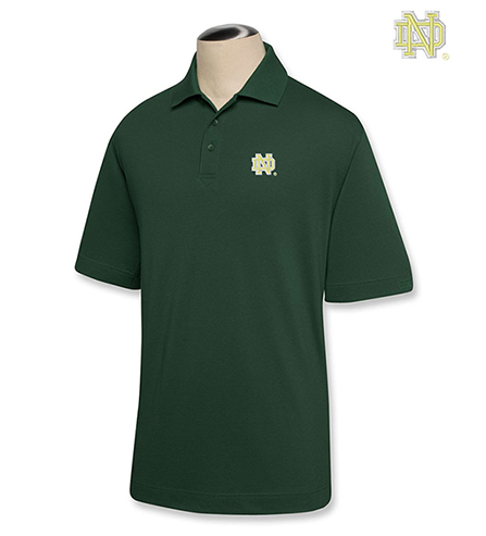 Cutter & Buck University of Notre Dame Championship Polo