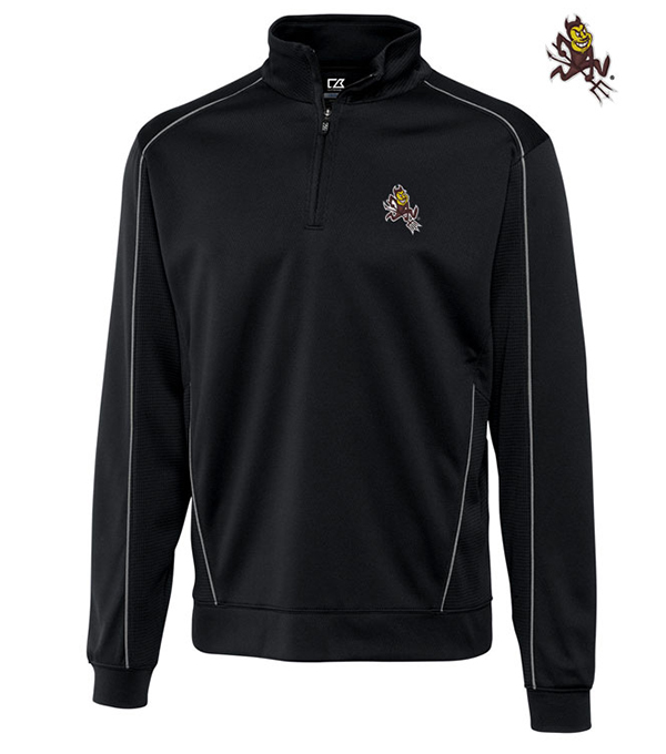 Cutter & Buck Arizona State University Edge Half-Zip Pullover
